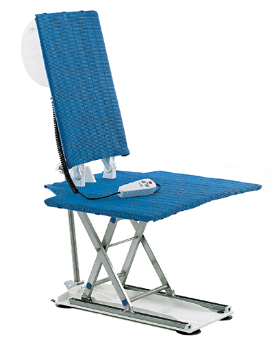 photgraph of the aquatec fortuna transfer chair